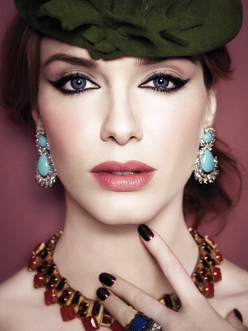 Christina Hendricks - LA Times Magazine by Joshua Jordan, July 2010