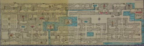 Speaking of Ganon, my dad gave this to me a few months ago. Its a map I drew up of the world from the Legend of Zelda on the NES when I was a kid. Moving from screen to screen and copying the landscape. It was sweet cos he kept it all this time. I was, am, and always will be a nerd :) Love you dad :)