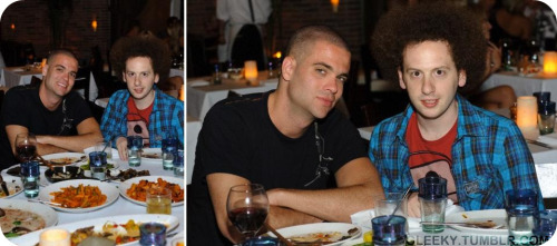 Mark Salling and Josh Sussman at Lavo in Las Vegas - July 3, 2010