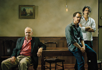 Cormac McCarthy and the Coen brothers.