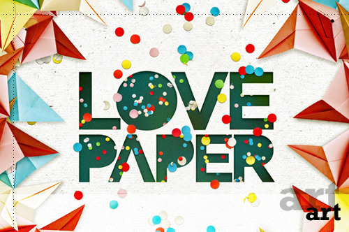 I think it's safe to say that if you love paper, you'll definitely LOVE these images of paper by Richard Nabarro. Truly inspirational work that makes me want to grab a hole punch and start punching away at some colorful paper.