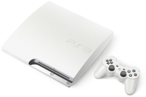 "Earlier this week, Sony announced a ""classic white"" Playstation 3 Slim would be released for the Japan market on 29 July 2010 with a 160GB HDD.  I want."