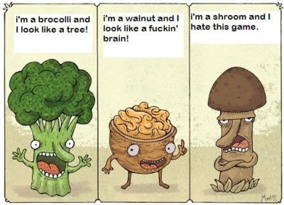 mushrooms can be such dicks.