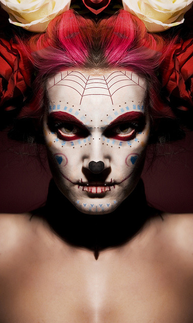arkangel666 AND HER GREAT SUGAR SKULL STYLE