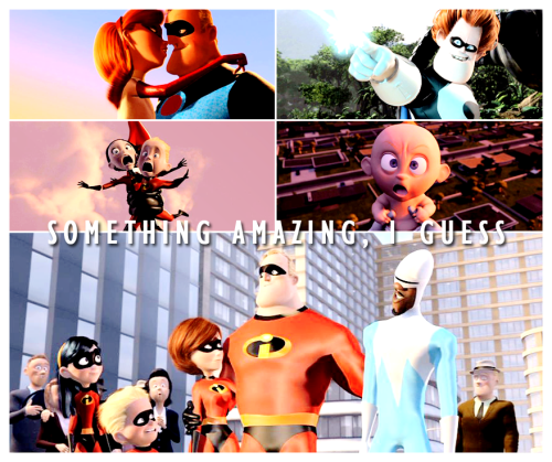 bemoreflexible:  dailyclassicdisney:  The Incredibles (2004)   It really is.  I guess we're pretty cool…