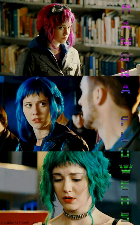Ramona Flowers is my favorite character RIGHT NOW! (via imcaptainkirk).