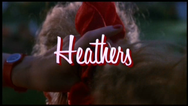 intertitles:  Heathers (1989)
