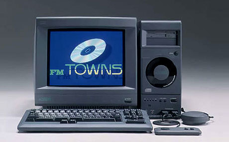 Fujitsu FM Towns Taken from this page on Japanese Computers (before Windows and Apple infiltrated the Japanese market)