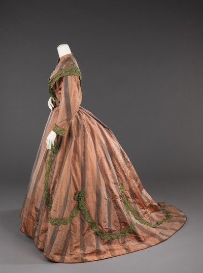 Afternoon dress, 1865.