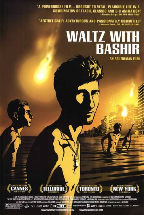 etwood:  fuckyeahmovieposters:  Waltz with Bashir   This movie made me cry so fucking often. :(