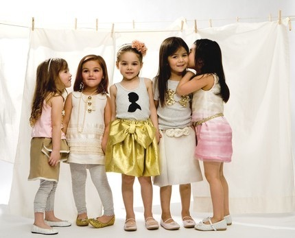 "Look at their lovely pieces. Stylish kidsfashion! I love looking at kids' photoshoot. Their priceless expressions and adorable pose! They are like ""you name it, we pose it"" :)  (via heavenishere)"