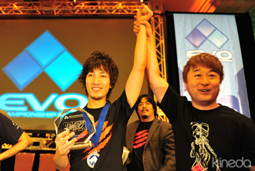 Daigo Umehara Wins Evo 2010 Super Street Fighter IV Championship Title In other world championship winners of the day, Umehara Daigo from Japan successfully defended his title as world's best streetfighter player.