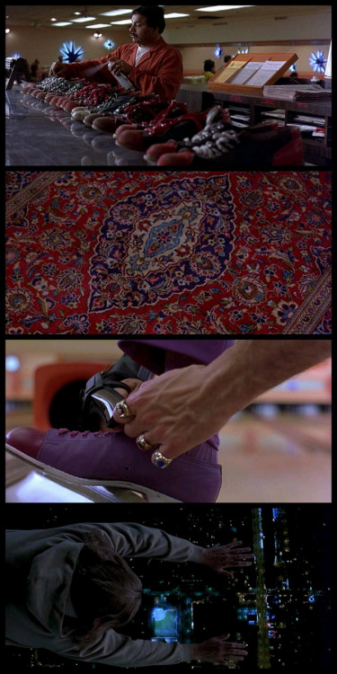 moviesinframes:  The Big Lebowski,1998 (dir. Ethan & Joel Coen)By zui [More The Big Lebowski here]