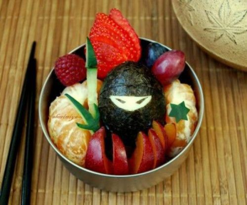 Ninja fruit bowl; you're already dead.