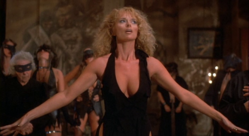 Sybil Danning in Howling II: Your Sister Is a Werewolf (1985)