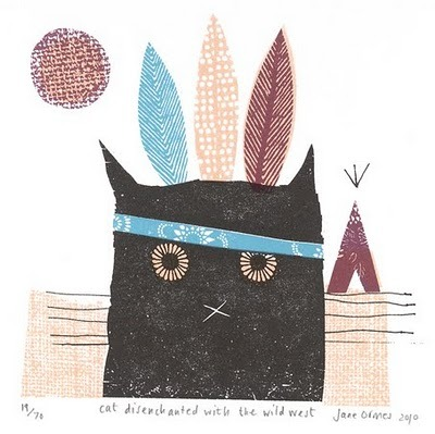 by Jane Ormes, via print and pattern