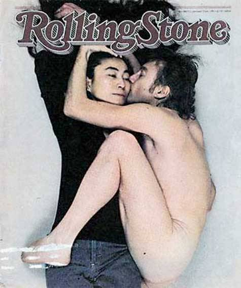 November 1980 issue of Rolling Stone feature John Lennon & Yoko Ono