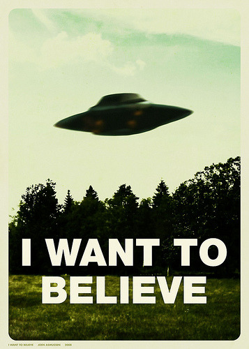 funrunrecords:  I Want To Believe.