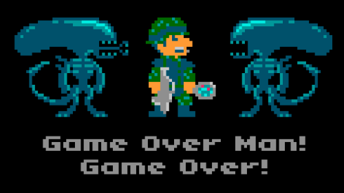 Game Over Man by torokun on deviantART via anjelicatomas