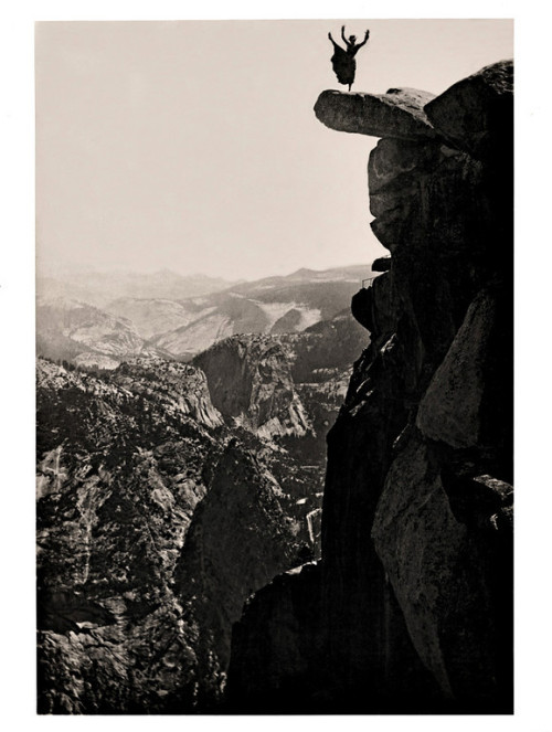 High Kick, Overlook,Yosemite Valley,California, c. 1910 also from Kingston Collection [more  Yosemite]