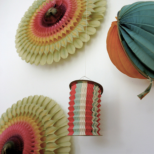 vintage paper decorations - {frolic!}