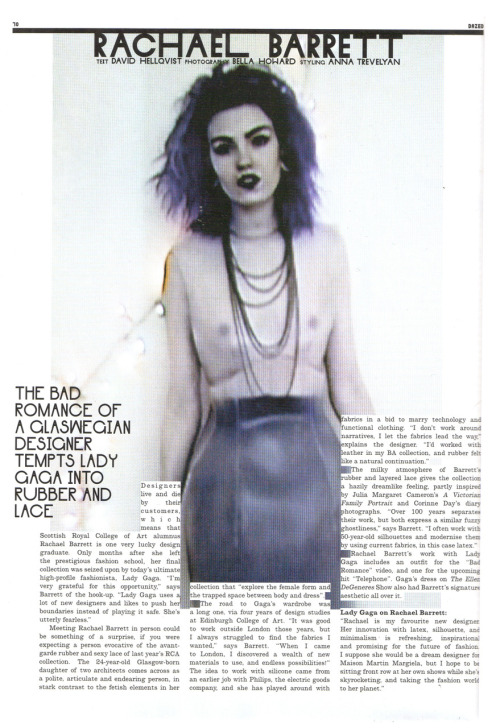 dazed and confused   volume 2 issue 84 stylist: anna trevelyan photographer:  bella howard