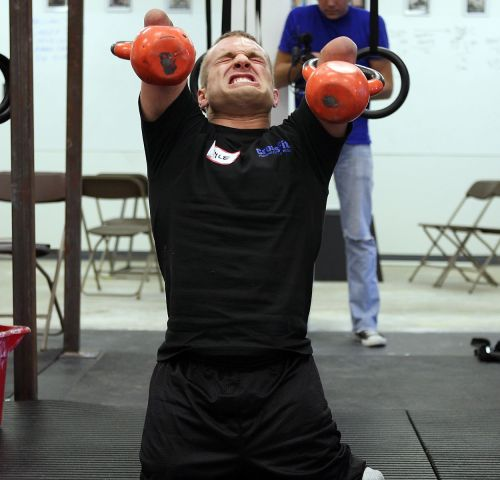 """No arms, no legs, no excuses"" via www.crossfit.com"