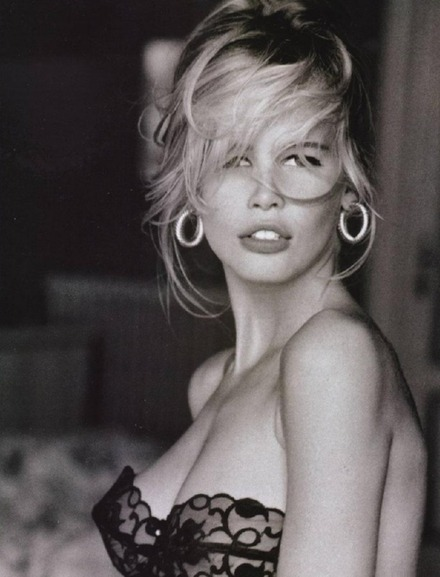 Claudia Schiffer is my favorite.