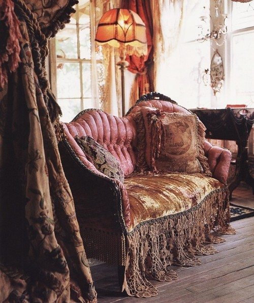 My Bohemian Home How romantic…. gypsypurplehome:  interiordesign2011:  californiagipsy:  delectable-collectibles: (via misswallflower)