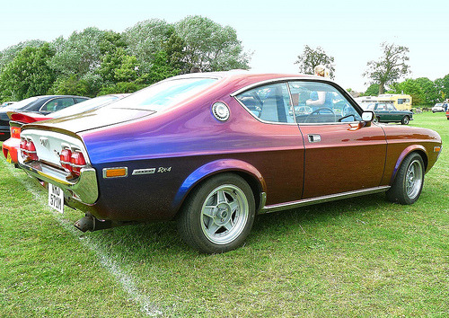 carpr0n:  Can you shift like me? Starring: '74 Mazda RX4 Coupe (by © Andrew)