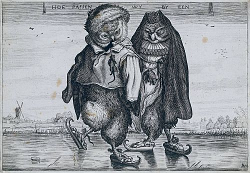 Owls by Adrien Pietersz Van de Venne Via