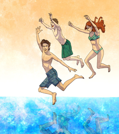 tardisadventures:  fyeahtardis:  nystacular:  Swimmin in the Tardis  this is the cutest thing