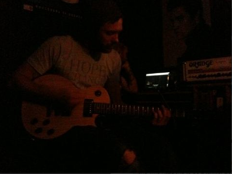 Dark darrkk picture of Quinn. Can't wait to hear the new records.
