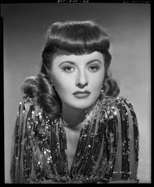 Barbara Stanwyck camera negative from Ball of Fire (1941) by George Hurrell Image Source: Profiles in History