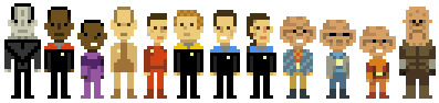 paramaline:  jaredigital:  Dribbble - DS9 Pixels by John Martz