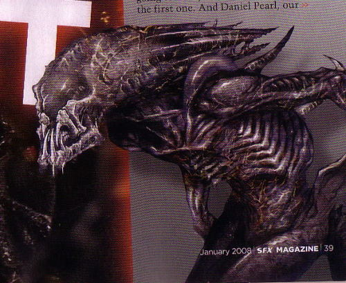 Predalien concept art As usual, way cooler than what we got in the film. x