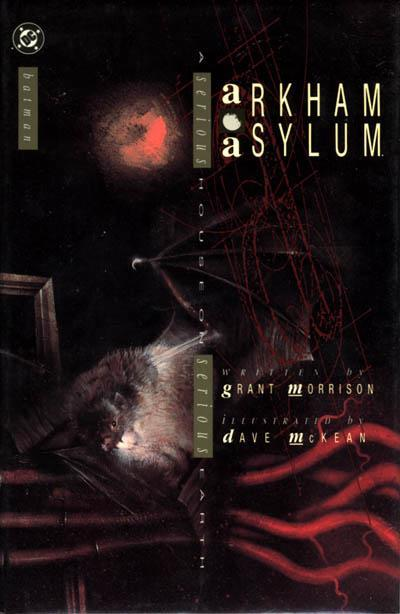 comicbookcovers:  Arkham Asylum, October 1989, cover by Dave McKean