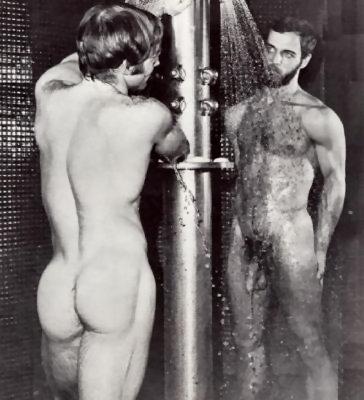 Men gallery in shower Naked