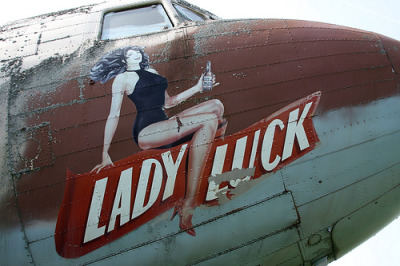 Lady Luck (DC-3) Nose Art (by MikeFB2764)
