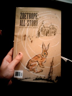 Zoetrope: All Story, with guest designer PJ Harvey: If I were PJ Harvey, I would do the same at that point of her career… but we miss you, PJ.