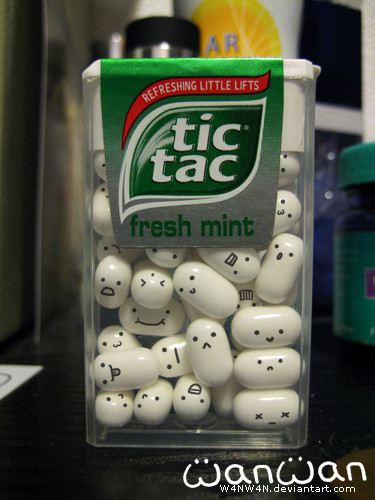 adding emotions to every tic tac :D kittywanni:  cryoutforme:  eightheartyou:  callmemisslonely:  cocoabunny16:  peacelovephotography:  kaythanksbyee:  loveismydesire:  thisturbulanceisbeautiful:  alectricity:  northie:  (via areyouactuallytakingthepiss)  First post of the day! Good morning Tumblr!