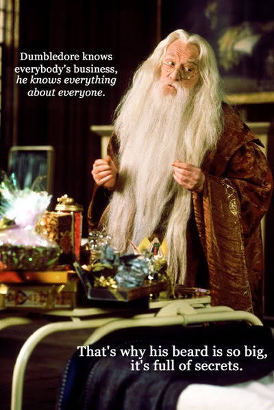 The old dumbledore :] Isn't he dead now? If so, R.I.P.