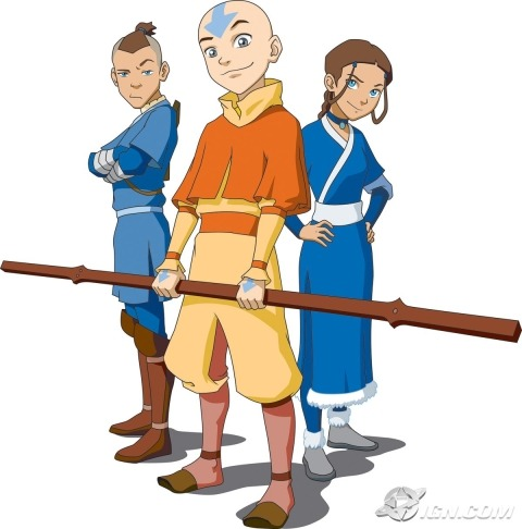 Avatar: The Last Airbender                    just finished the series…