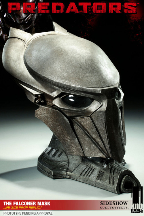 matthewmorgan:  I really want to have a replica Predator helmet. I feel like I could just wear it anywhere.  This reminds me vaguely of Sauron's helmet