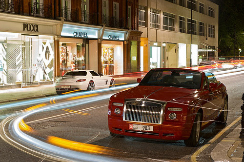 carpr0n:  Enjoy the view Starring: Rolls Royce Phantom and Mercedes Benz SLS AMG (by Luke Alexander Gilbertson)