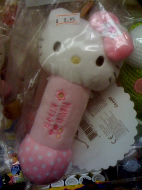hello kitty baby rattle