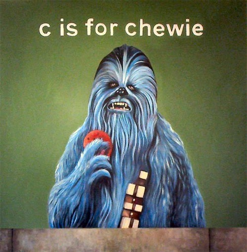 C Is For Chewie ~ by James Hance (via fuckyeahalbuquerque)