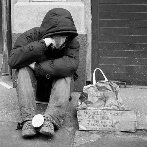 Homeless Photo Of The Day  By SamPac