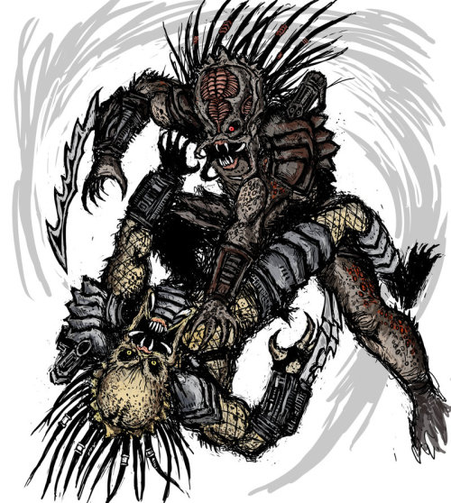 Predators by ~Abelardo on deviantART I like this guy's style