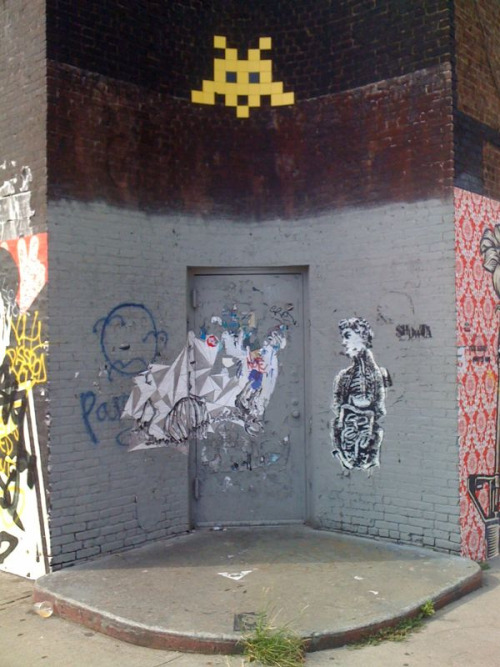 Space Invader - n. 11 and Wythe - Williamsburg